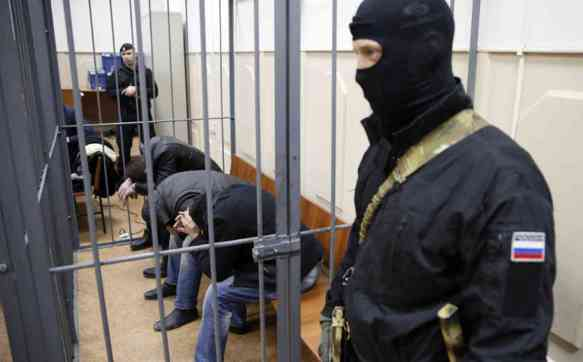 RUSSIA  NEMTSOV KILLING COURT